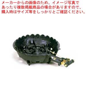 【業務用】タチバナ製作所 【 ガスコンロ 鋳物 】 特殊三重ガスコンロセットTS-360P