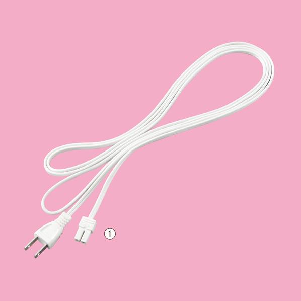 【まとめ買い10個セット品】 一般プラグ付きコード(SS) 150cm 【ECJ】