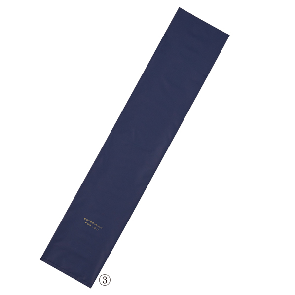 【まとめ買い10個セット品】 梨地シンプルギフトバッグ16cm ネイビー20枚 16×80cm 【ECJ】