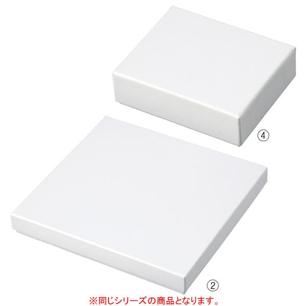 【まとめ買い10個セット品】 フェザーケース ホワイト 10.1×8.7×3.1cm 12個 【ECJ】