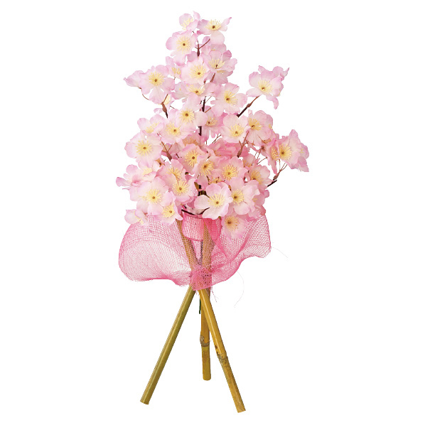 【まとめ買い10個セット品】 桜立体スタンド1個 【桜 サクラ さくら 春 飾り イベント 装飾】 【ECJ】