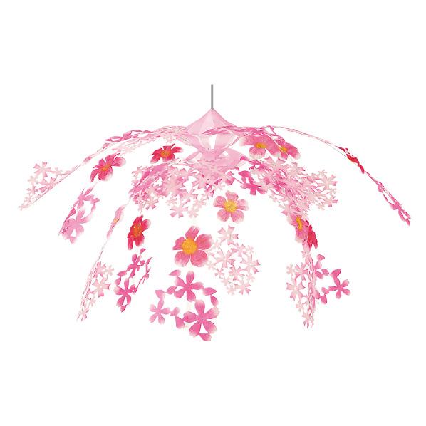 【まとめ買い10個セット品】 さくら2段センターハンガー1個 【桜 サクラ さくら 春 飾り イベント 装飾】 【ECJ】