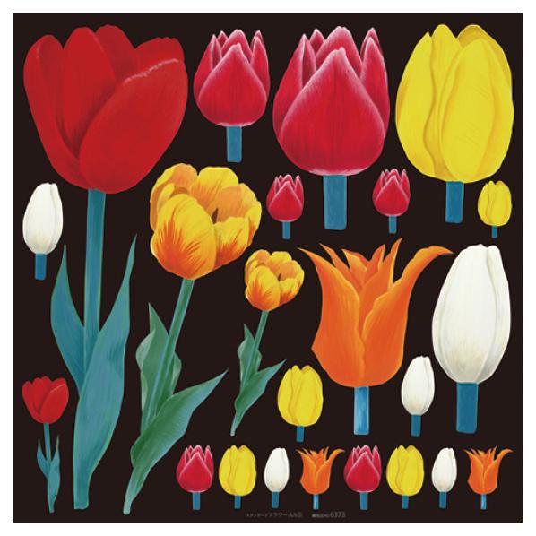 【まとめ買い10個セット品】 ボード用デコレーションシール チューリップ1枚 【春 チューリップ ガーベラ 花 フラワー 飾り イベント 装飾】 【ECJ】