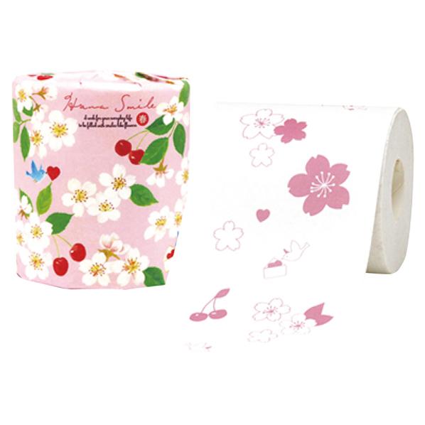 桜トイレットペーパー120個 【ECJ】