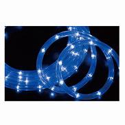 LED100球ロープライト ブルー1セット【クリスマス クリスマスイルミネーション イルミネーション 電飾 ライト 店舗装飾 飾り ディスプレイ christmas xmas】【ECJ】