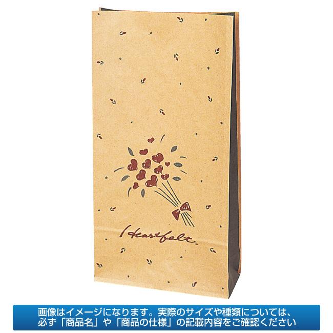 【まとめ買い10個セット品】 【業務用】紙袋 洋品袋 ハートフェルト 16.5×6.5cm 1500枚【 送料無料 】