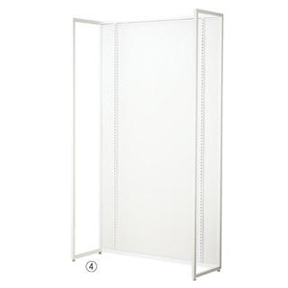 【業務用】UR120 壁面タイプ ホワイト 本体 ホワイトパネル付き 1台