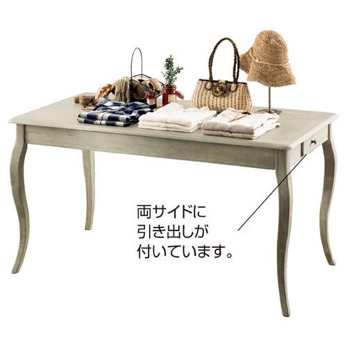 【業務用】ディスプレーテーブル グレー(大) ディスプレーテーブル【販促用品 ディスプレー テーブル 棚 店舗備品】【ECJ】