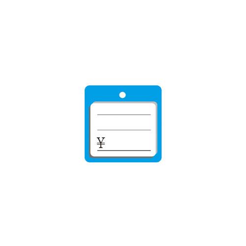 【まとめ買い10個セット品】 さげ札(糸付き) ¥ ブルー 1000枚【店舗備品 店舗インテリア 店舗改装】【ECJ】