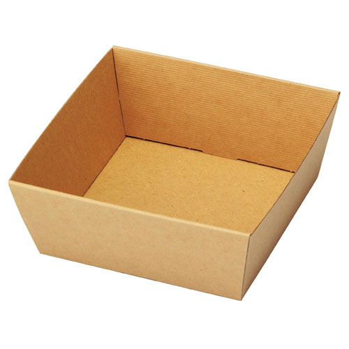 【まとめ買い10個セット品】 シンプルクオリティ ギフトトレー 13(11)×13(11)×5 20枚【店舗什器 小物 ディスプレー ギフト ラッピング 包装紙 袋 消耗品 店舗備品】【ECJ】