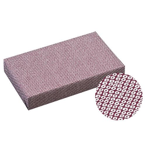 【まとめ買い10個セット品】 鹿の子 包装紙 紫 1000枚【店舗備品 包装紙 ラッピング 袋 ディスプレー店舗】【ECJ】
