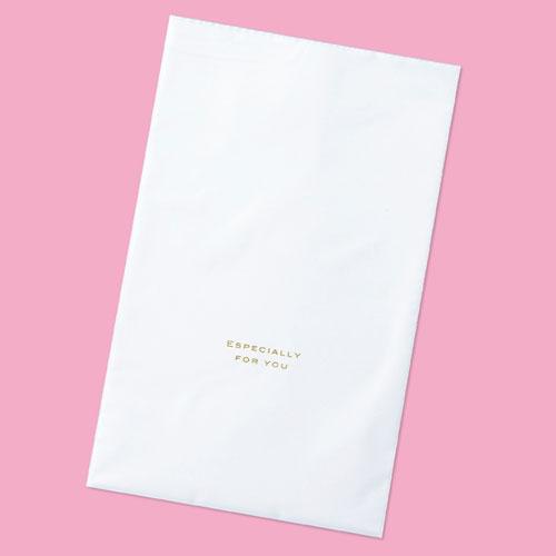 【まとめ買い10個セット品】 梨地ギフトバッグ ホワイト 20×32 50枚【店舗什器 小物 ディスプレー ギフト ラッピング 包装紙 袋 消耗品 店舗備品】【ECJ】
