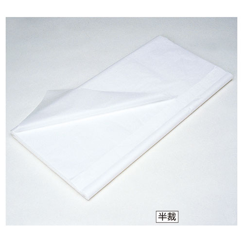 【まとめ買い10個セット品】 薄葉紙 半裁 白 2000枚【店舗備品 包装紙 ラッピング 袋 ディスプレー店舗】【ECJ】