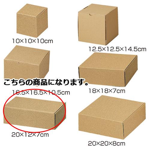 【まとめ買い10個セット品】 ナチュラルボックス 20×12×7 10枚【店舗什器 小物 ディスプレー ギフト ラッピング 包装紙 袋 消耗品 店舗備品】【ECJ】