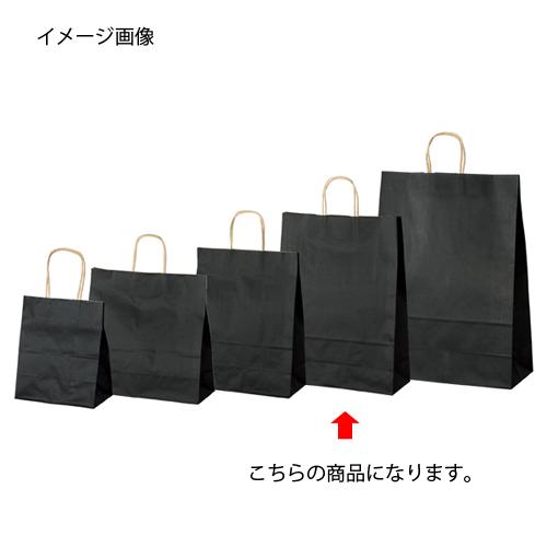 【まとめ買い10個セット品】 カラー手提げ紙袋 黒 32×11.5×41 50枚【店舗備品 包装紙 ラッピング 袋 ディスプレー店舗】【ECJ】