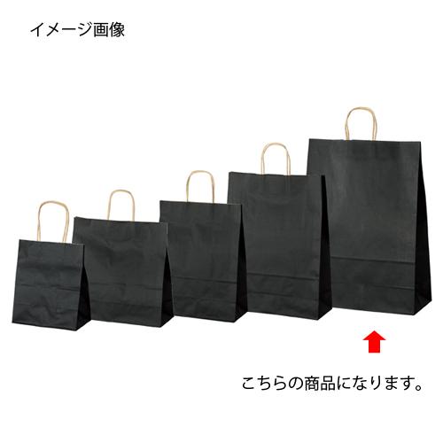 【まとめ買い10個セット品】 カラー手提げ紙袋 黒 38×15×50 50枚【店舗備品 包装紙 ラッピング 袋 ディスプレー店舗】【ECJ】