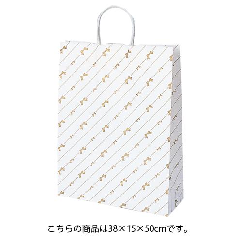 【まとめ買い10個セット品】 斜線リボン 38×15×50 50枚【店舗什器 小物 ディスプレー ギフト ラッピング 包装紙 袋 消耗品 店舗備品】【ECJ】