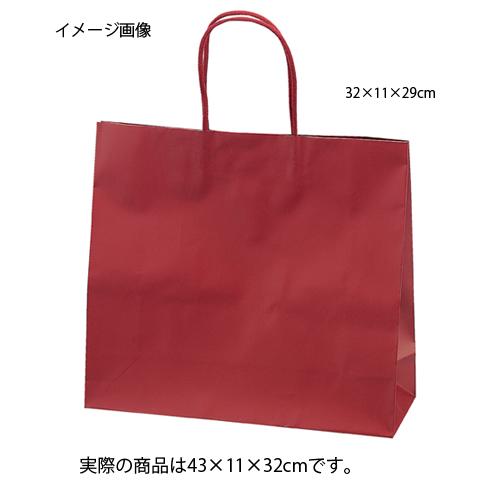 【まとめ買い10個セット品】 マットバッグ ワイン 43×11×32 10枚【店舗備品 包装紙 ラッピング 袋 ディスプレー店舗】【ECJ】