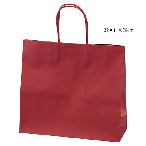 【まとめ買い10個セット品】 マットバッグ ワイン 32×11×29 100枚【店舗備品 包装紙 ラッピング 袋 ディスプレー店舗】【ECJ】