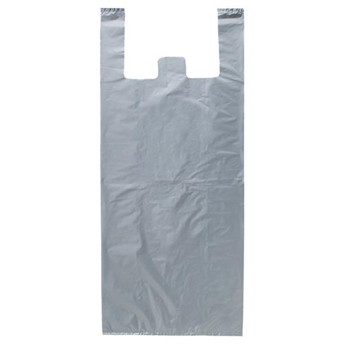 【まとめ買い10個セット品】 ジャンボバッグ シルバー 50×90(72)×横マチ20 50枚【店舗什器 小物 ディスプレー ギフト ラッピング 包装紙 袋 消耗品 店舗備品】【ECJ】