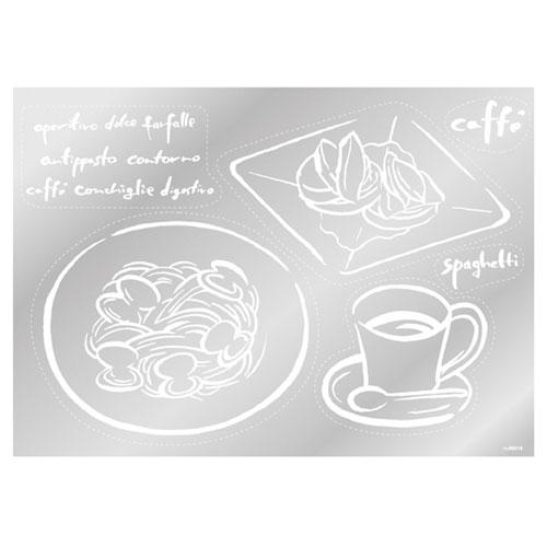 【まとめ買い10個セット品】 ウインドウシール コーヒー コーヒー【店舗什器 小物 ディスプレー POP ポスター 消耗品 店舗備品】【ECJ】