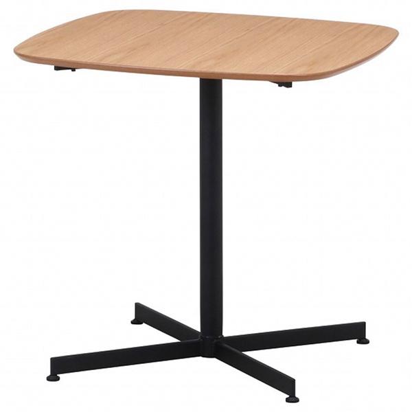 カフェテーブル レグナ 75cm×75cm ナチュラル 1台 【ECJ】