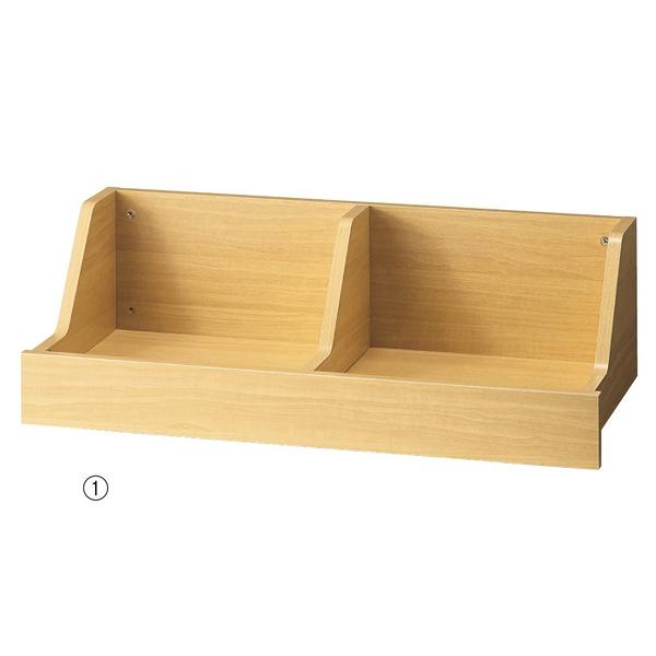 木製陳列トロッコ W90cm エクリュ 【ECJ】