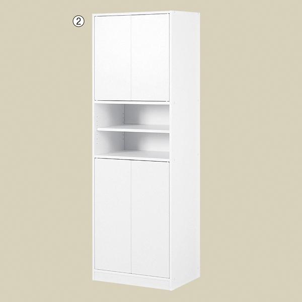 食器棚ホワイト 1台 【ECJ】