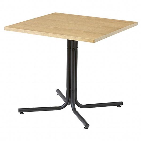 カフェテーブル W75ナチュラル 1台 【ECJ】