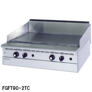 【業務用】フジマック 業務用ガスグリドル FGFT100-2TC W1000×D750×H265 【 メーカー直送/代引不可 】