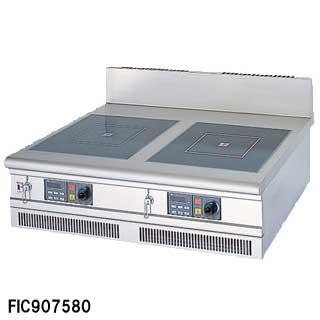 【業務用】フジマック 業務用IHコンロ FIC9075100B W900×D750×H265 【 メーカー直送/後払い決済不可 】