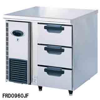 【業務用】フジマック 業務用ドロワーコールドテーブル FRD0960JF W900×D600×H850 【 メーカー直送/代引不可 】 【 送料無料 】