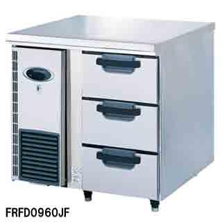 【業務用】フジマック 業務用冷凍ドロワーコールドテーブル FRFD0960JF W900×D600×H850 【 メーカー直送/代引不可 】