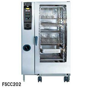 フジマック 業務用コンビオーブン FSCCシリーズ ガス式 FSCC202G W1084×D996×H1782 【 メーカー直送/後払い決済不可 】 【ECJ】