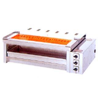 【業務用】ヒゴグリラー 電気グリラー 二刀流タイプ卓上型 3H-210YCW 電気【 メーカー直送/後払い決済不可 】