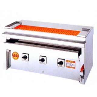 【業務用】ヒゴグリラー 焼き鳥焼き器 焼鳥[大串]専用タイプ卓上型 3P-207XC【 メーカー直送/後払い決済不可 】