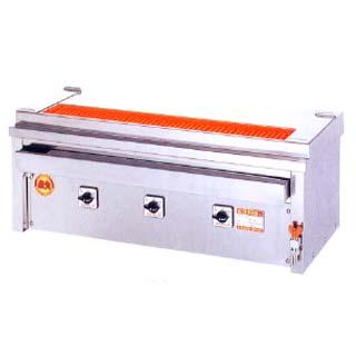 【業務用】ヒゴグリラー 焼き鳥焼き器 焼鳥専用タイプ卓上型 3P-208KC【 メーカー直送/後払い決済不可 】