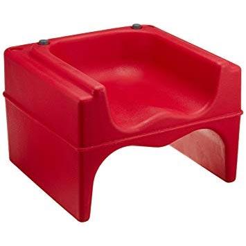 【まとめ買い10個セット品】キャンブロ ブースターシート 200BC ホットレッド 【 家具 子供用椅子 ベビーチェア 】