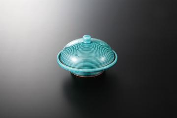kak-114685 まとめ買い10個セット品 和食器 青釉 高台蓋物 まごころ第36集 日本産 驚きの値段 36K030-06 ECJ キャンセル 返品不可