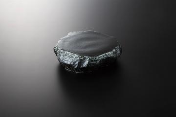 【まとめ買い10個セット品】和食器 黒吹 岩高台皿(小) 35K034-15 まごころ第35集 【キャンセル/返品不可】【ECJ】