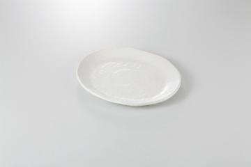 【まとめ買い10個セット品】和食器 ホワイト 小判皿(大) 36K157-14 まごころ第36集 【キャンセル/返品不可】【ECJ】