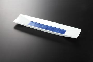 【まとめ買い10個セット品】和食器 青雲 舟型長皿 35K115-01 まごころ第35集 【キャンセル/返品不可】【ECJ】