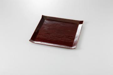 【まとめ買い10個セット品】和食器 あめ釉 こより大皿 36K142-18 まごころ第36集 【キャンセル/返品不可】【ECJ】