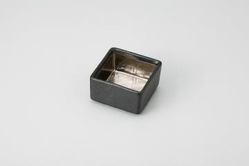和食器 銀彩黒茶 ぷち重 35F100-20 まごころ第35集