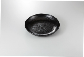 【まとめ買い10個セット品】和食器 ブラック 盛鉢 35K232-02 まごころ第35集 【キャンセル/返品不可】【ECJ】