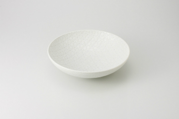 【まとめ買い10個セット品】和食器 白結晶 盛鉢 35K247-03 まごころ第35集 【キャンセル/返品不可】【ECJ】