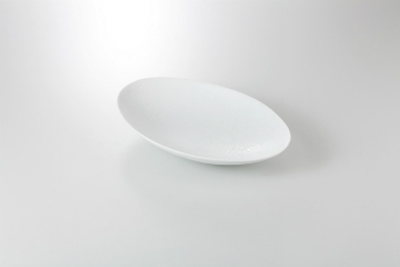 【まとめ買い10個セット品】和食器 青磁吹 楕円鉢 36K197-01 まごころ第36集 【キャンセル/返品不可】【ECJ】
