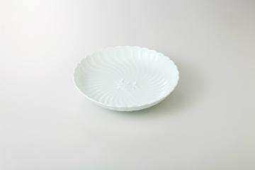 【まとめ買い10個セット品】和食器 青白磁 8.0皿 35H212-01 まごころ第35集 【キャンセル/返品不可】【ECJ】