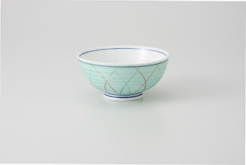 kak-104593 まとめ買い10個セット品 和食器 緑銀彩武蔵野 茶碗 36K298-10 在庫一掃売り切りセール まごころ第36集 返品不可 オンラインショップ ECJ キャンセル