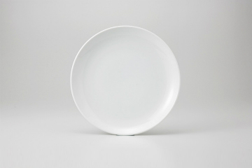 【まとめ買い10個セット品】和食器 シノワホワイト 丸尺皿 36K356-06 まごころ第36集 【キャンセル/返品不可】【ECJ】